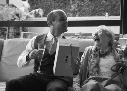 Huwelijksfotograaf Lochristi – Marieke & Pieter