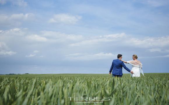 Huwelijksfotograaf – Sarah & Bert bij de Teletubbies