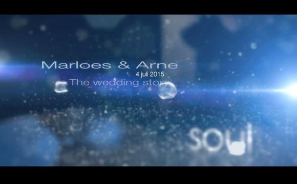 Videograaf Huwelijk / Trouwfilm Marloes & Arne